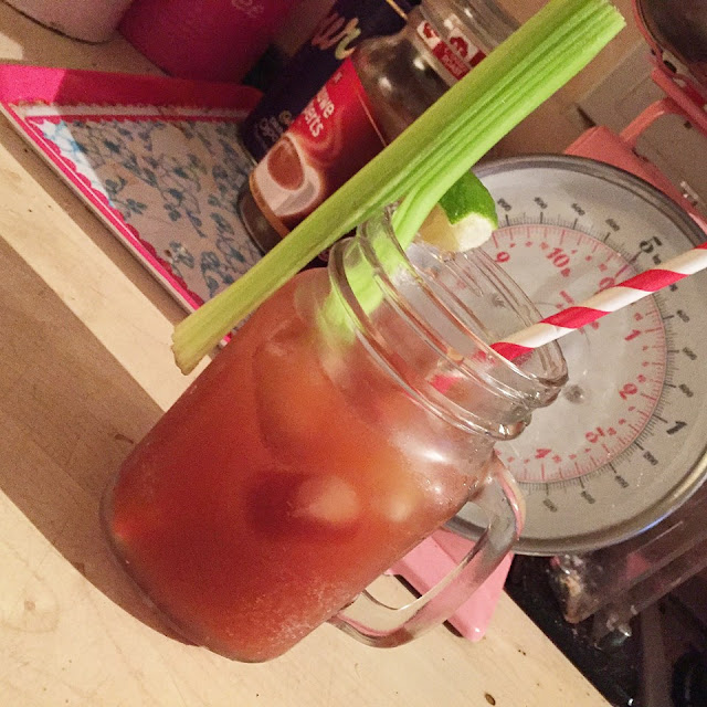 virgin mary mocktail recipe