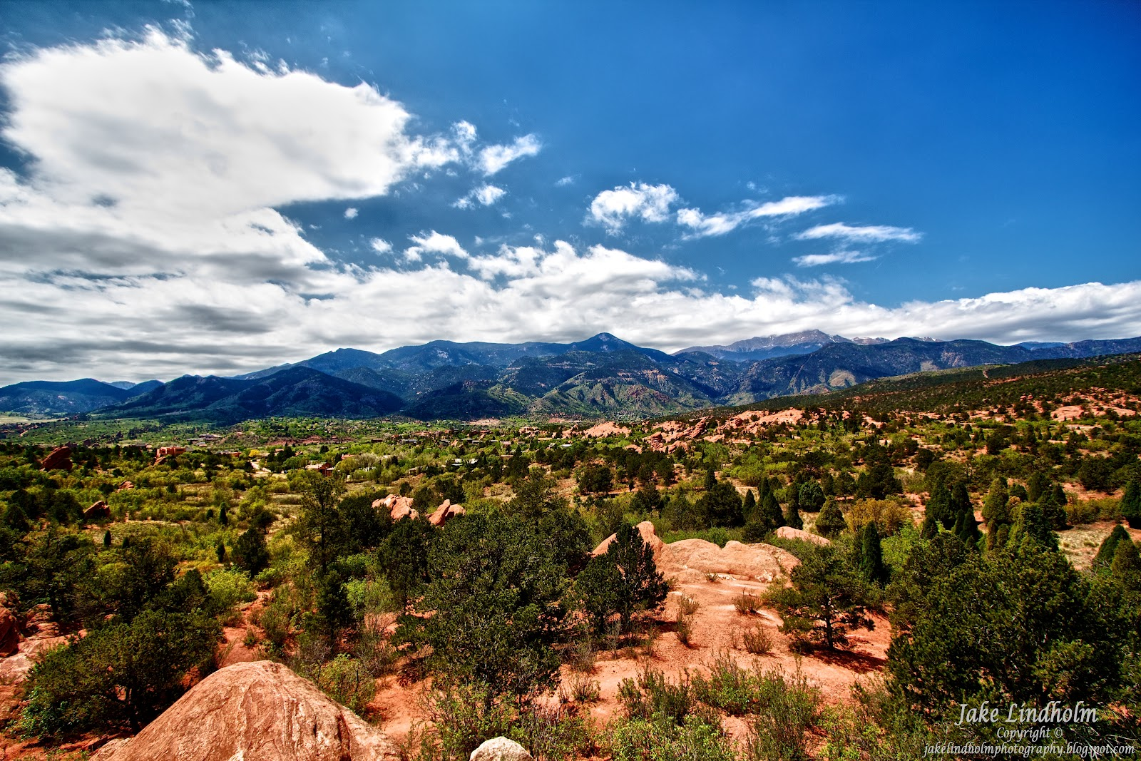 Jake lindholm photography garden of the gods colorado springs co for Garden of the gods co