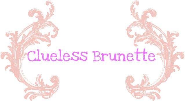 Clueless Brunette