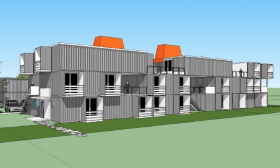 50-Unit Shipping Container Apartment Complex Homes Coming to Orlando