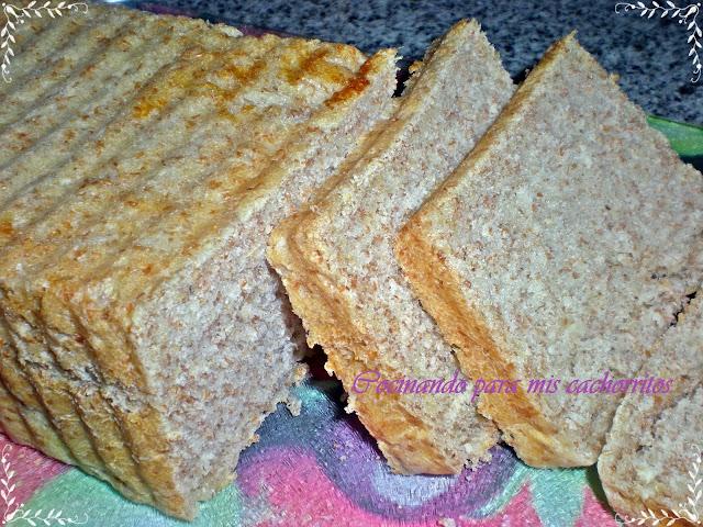 Pan de molde con salvado de trigo