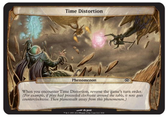 Magic Planechase - Edition 2012 - Distorsion temporelle