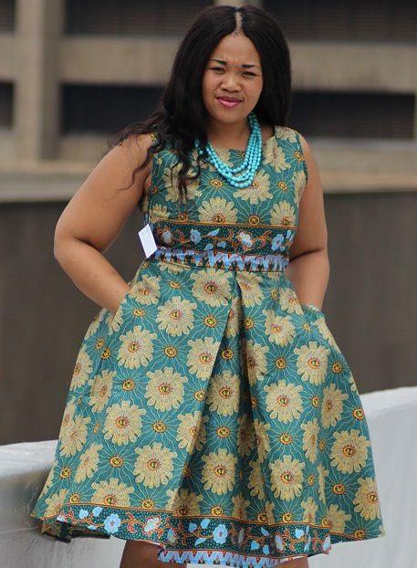 I Love This Simple Ankara Short Gown - DeZango Fashion Zone