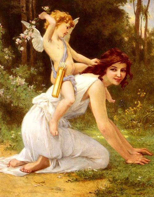 cupid,love painting,Guillame Seignac