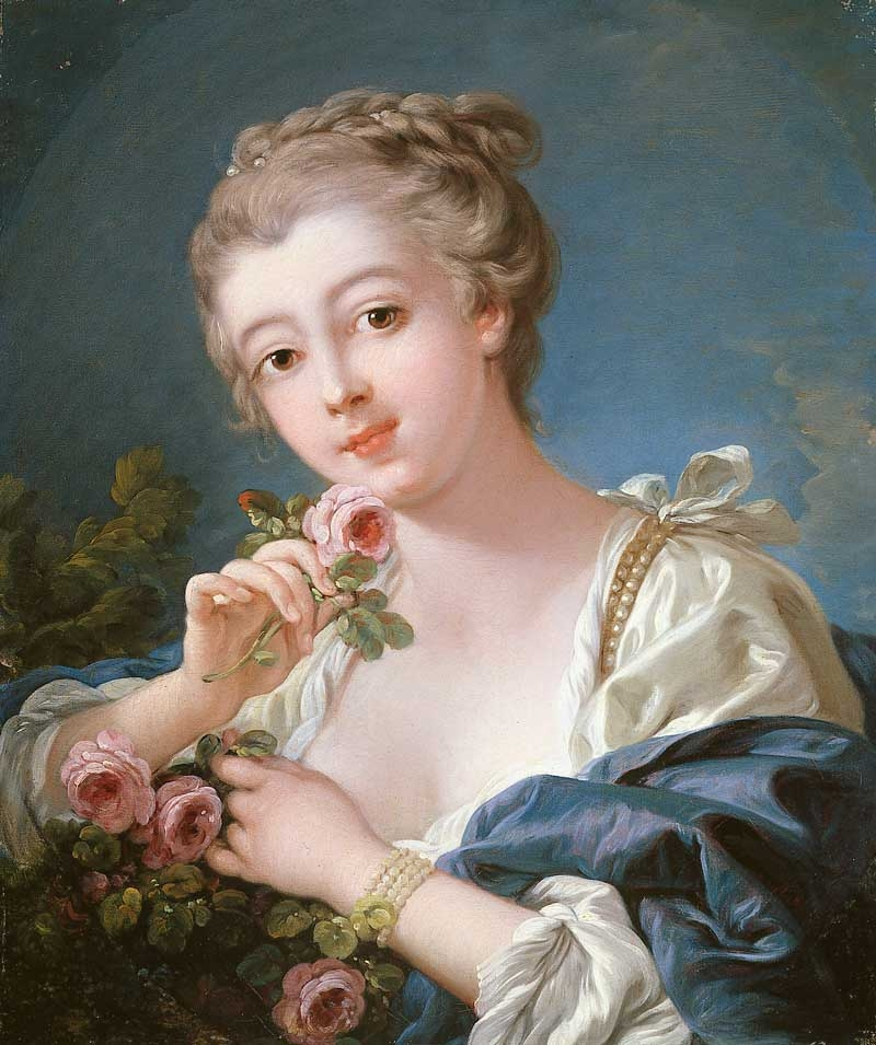 Melody & Mist  Jeune Fille , By ~ Francois Boucher ~ 1703