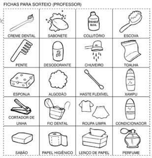 Desenhos para colorir e Atividades sobre Higiene Bucal - imagens para colorir sobre higiene pessoal