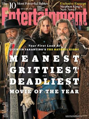 The Hateful Eight Entertainment Weekly Cover