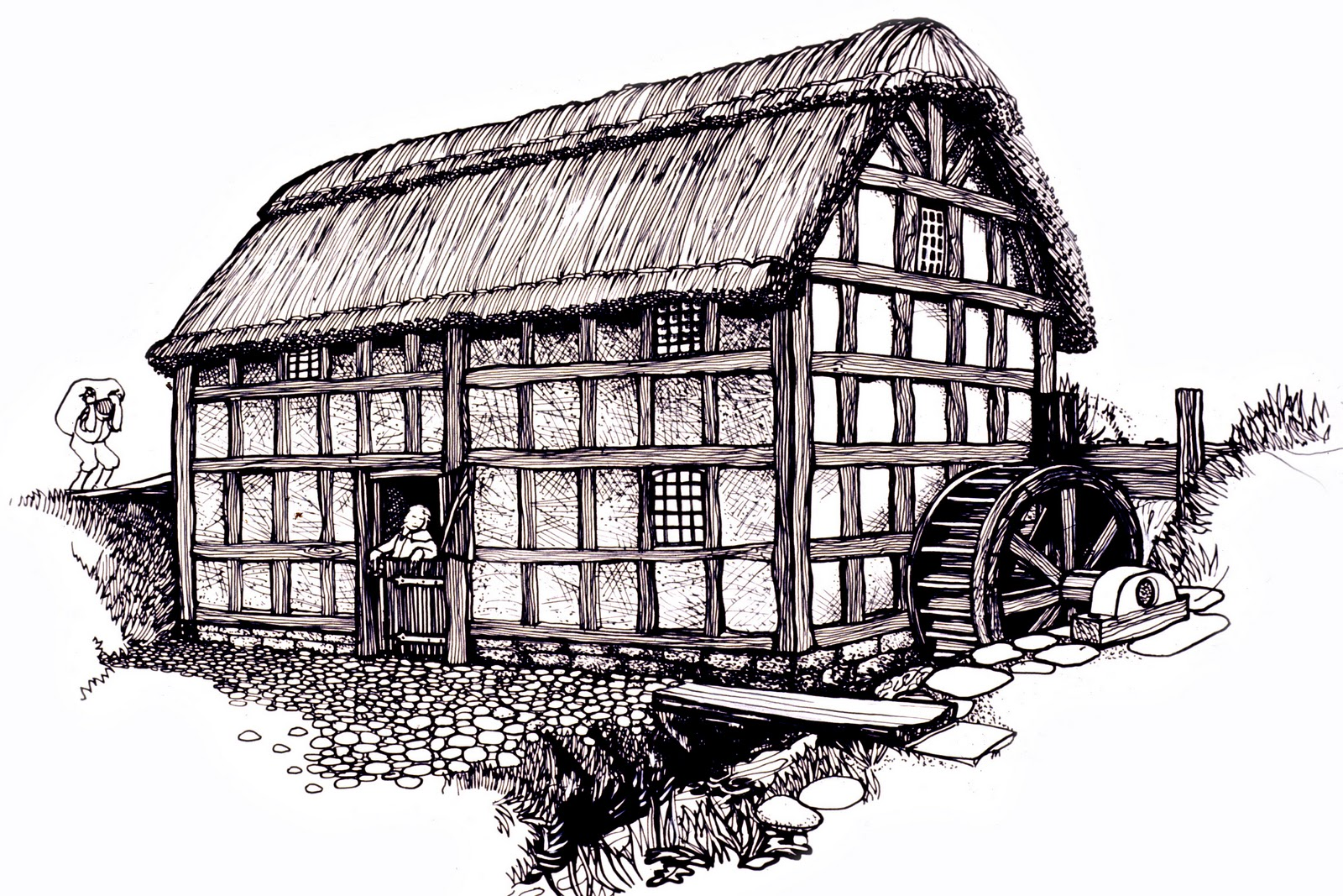 The Jolly Millers: Brief History of Stretton Watermill