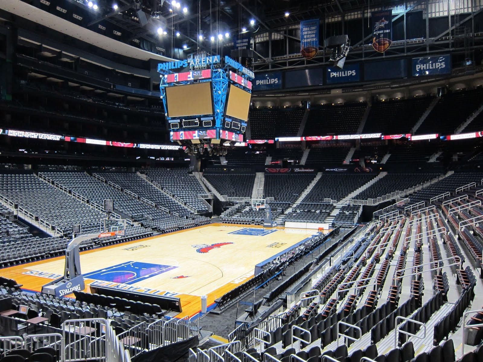 61 Philips Arena Atlanta Ga Scolin S Sports Venues