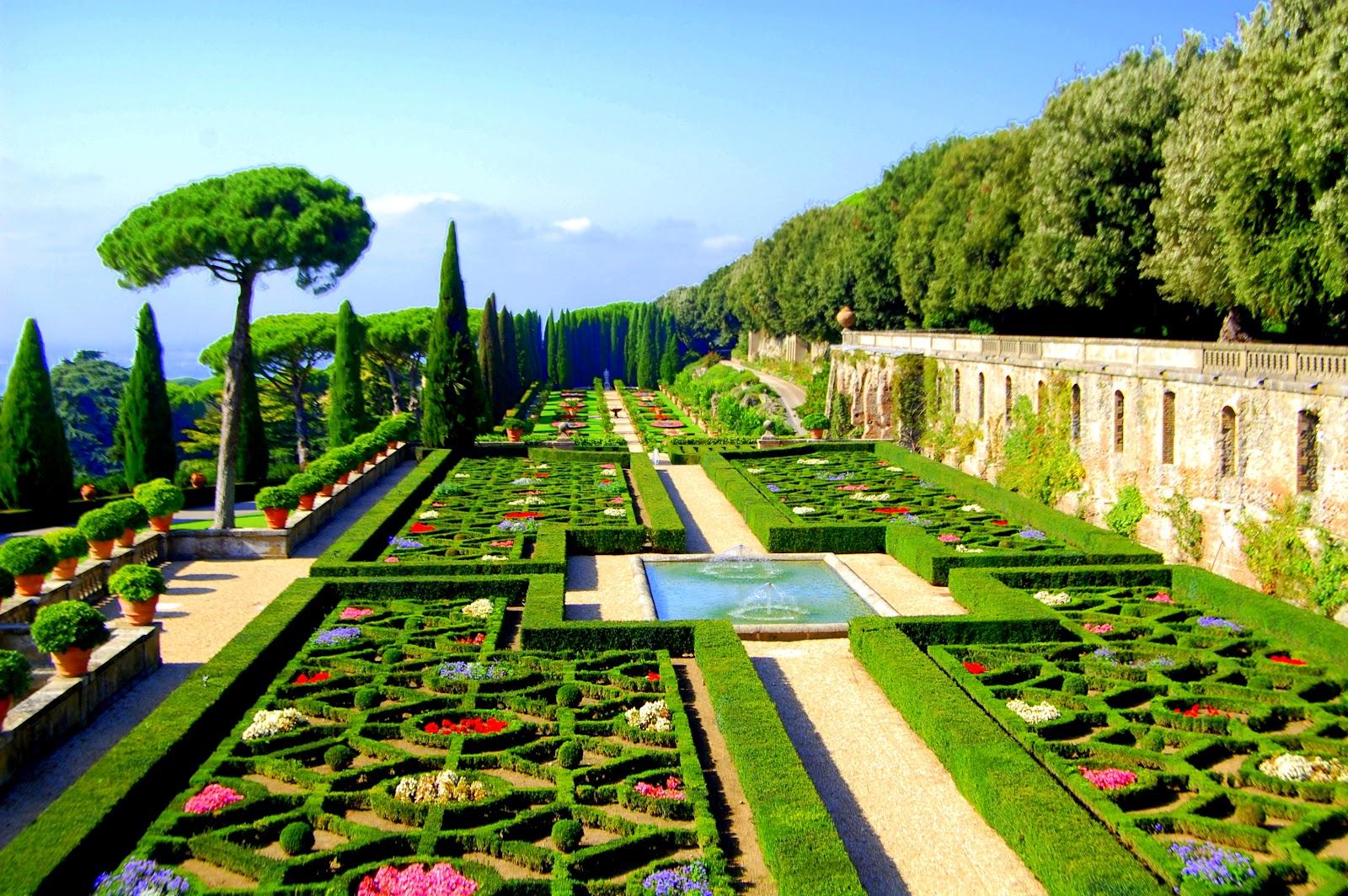 Visita ai giardini vaticani di castel gandolfo for Jardin villa medicis rome