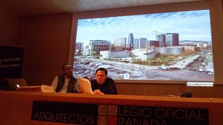 Gij n arquitectura blog ngel gij n present al - Colegio arquitectos granada ...