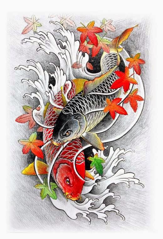 Carpas 6 belagoria la web de los tatuajes for Carpas koi cuidados