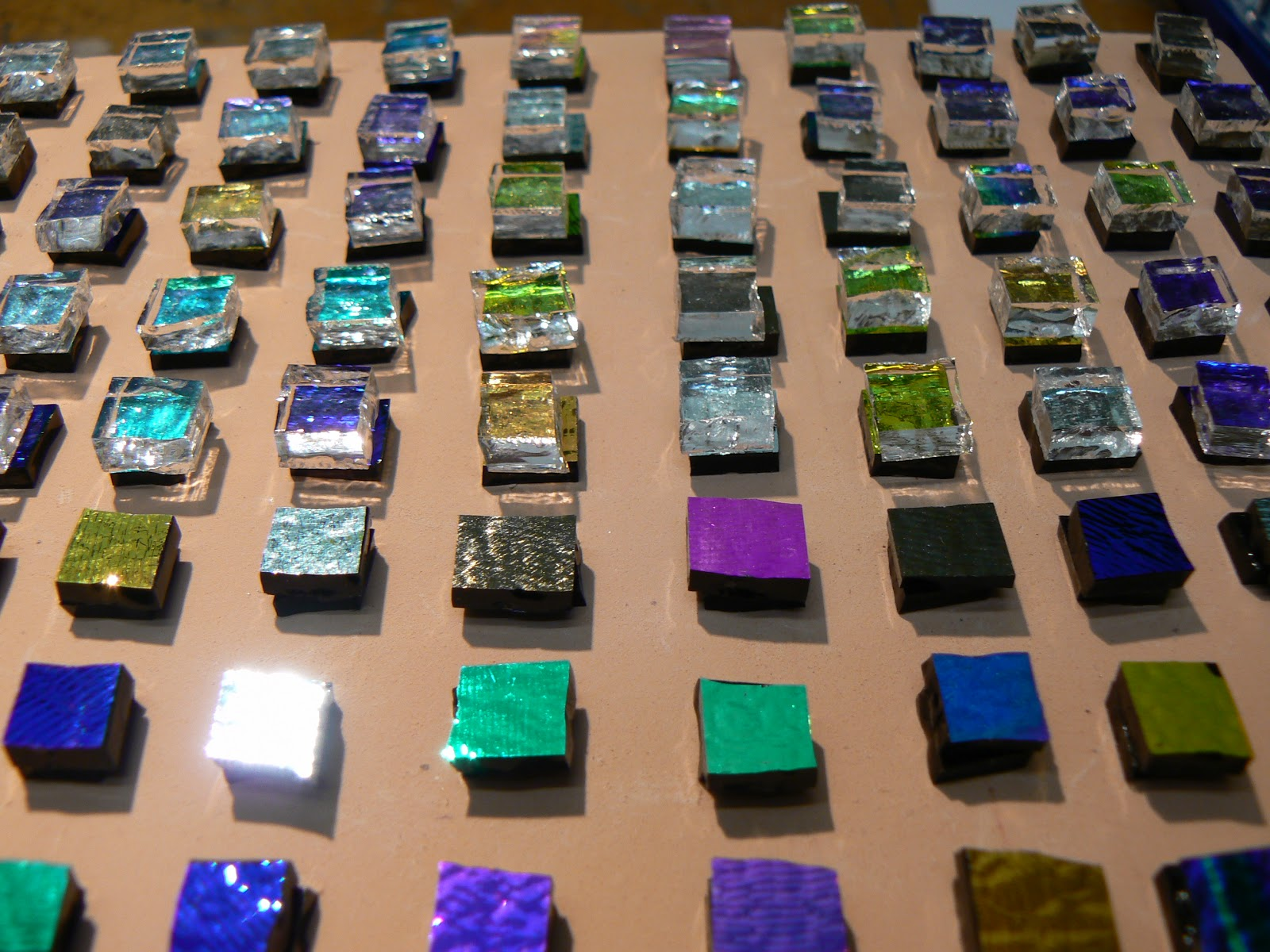 Steve smiths jewellery my dos and donts on how to make very cut dichroic glass ready for firing aloadofball Gallery