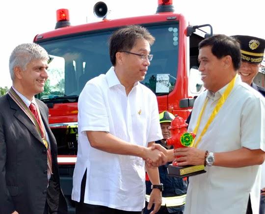 Rosenbauer fire trucks in the philippines