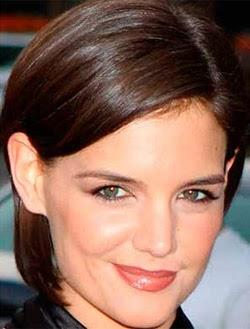 Model Gaya Rambut Pendek Wanita, Katie Holmes