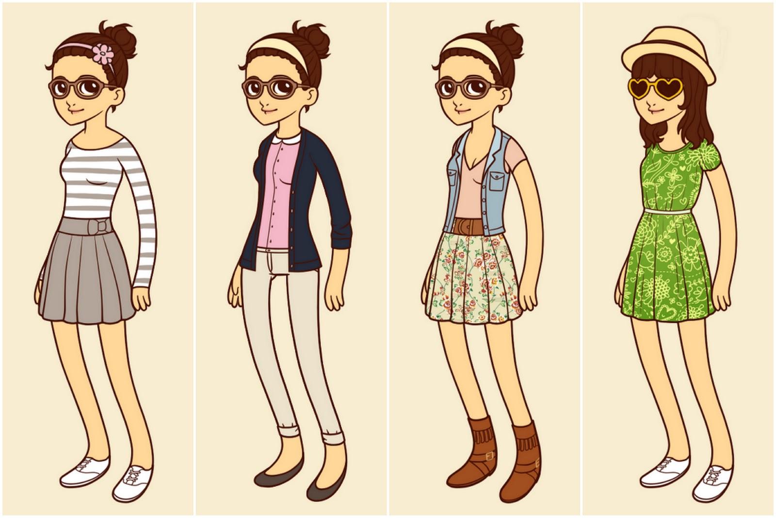 HIPSTER GIRL LOOKBOOK SPRING/SUMMER 2012