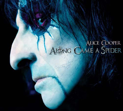 Whoopidooings Alice Cooper - Along Came A Spider Album Art