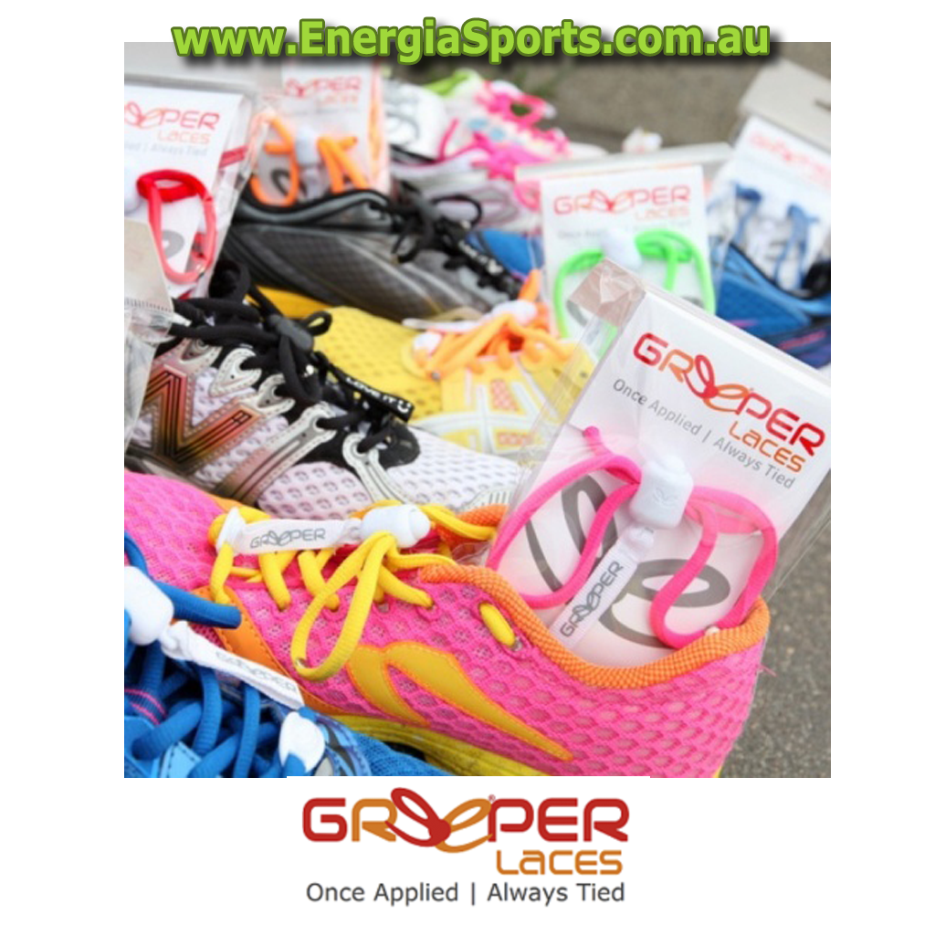 greeper laces shoelaces triathlon running mobility energia sports