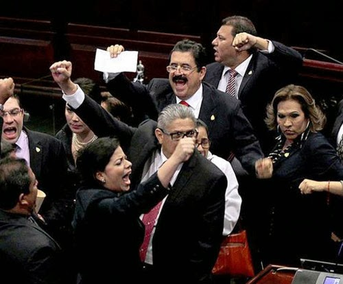 Honduras,politica