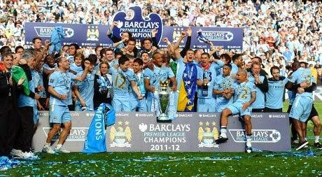 Manchester City juara EPL Musim 2013/14