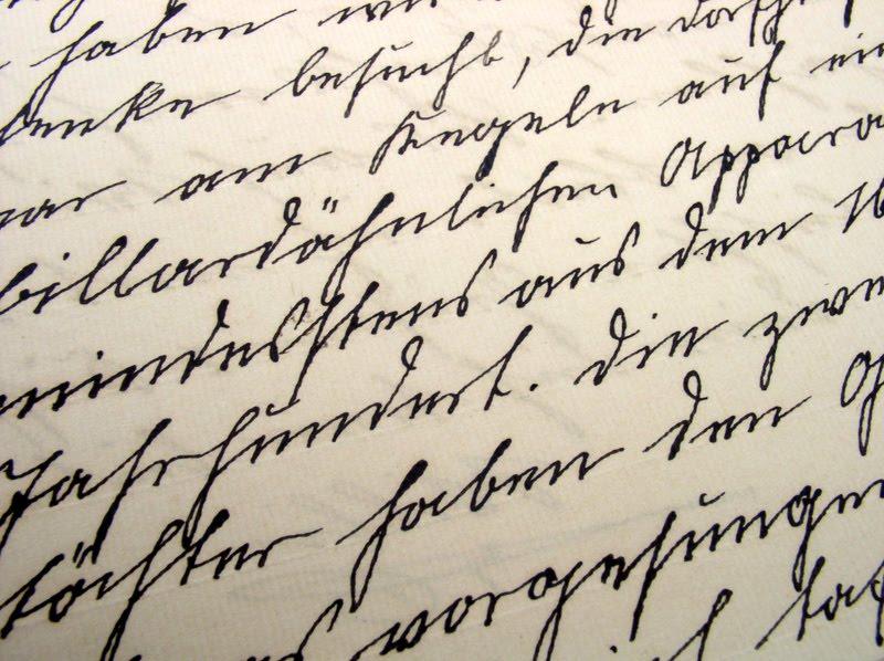 A Writers Desk The Case For Cursive