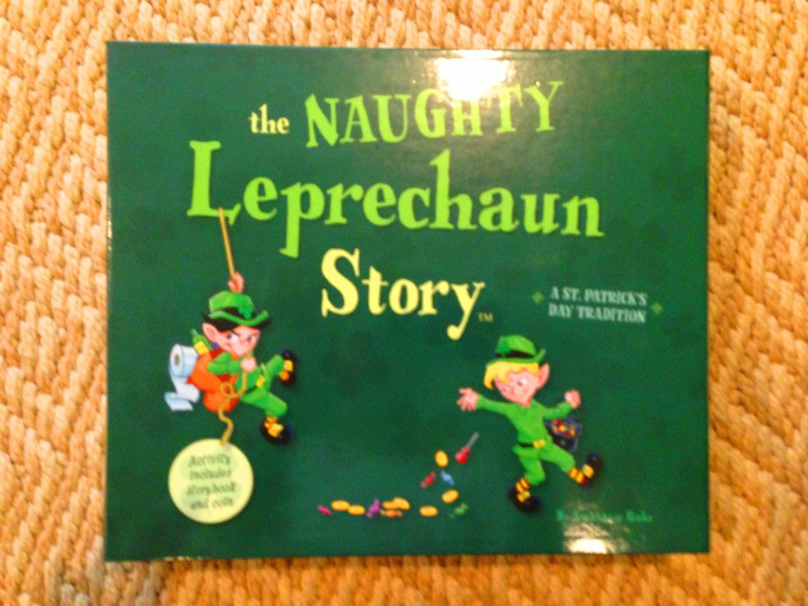 Leprechaun Classroom Visit Ideas ~ Kindergarten smiles naughty leprechaun story and giveaway