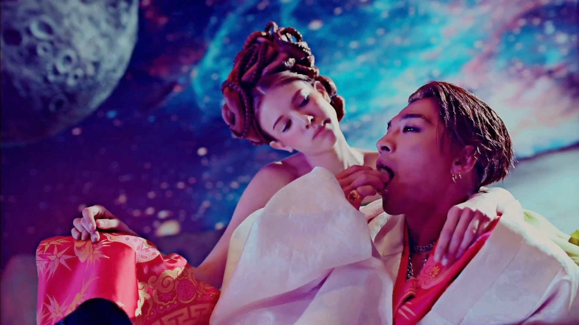 Big Bang's Taeyang in Bae Bae MV