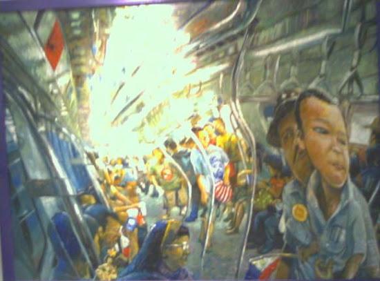 LRT Art - Puno ng Kulay ang Una Kong Paglalakbay