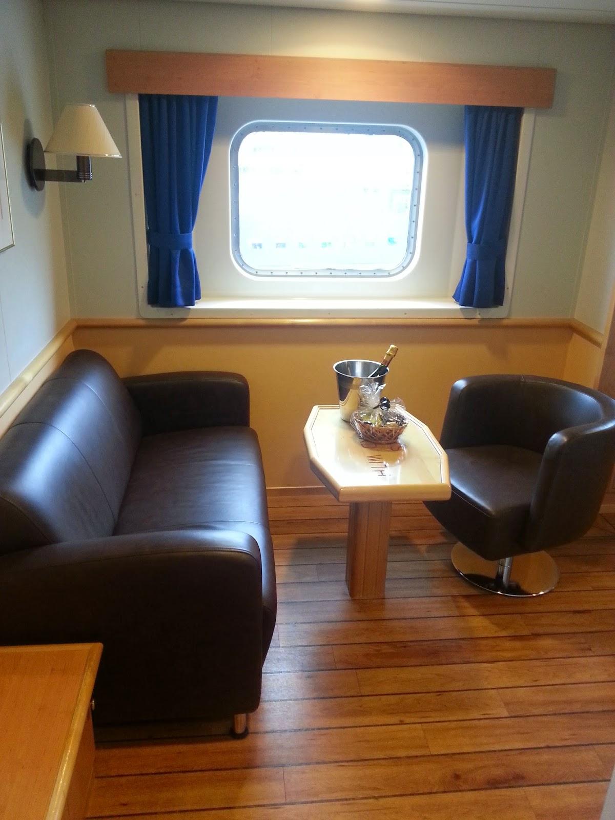 Hurtigruten MS Richard With - Mini Suite