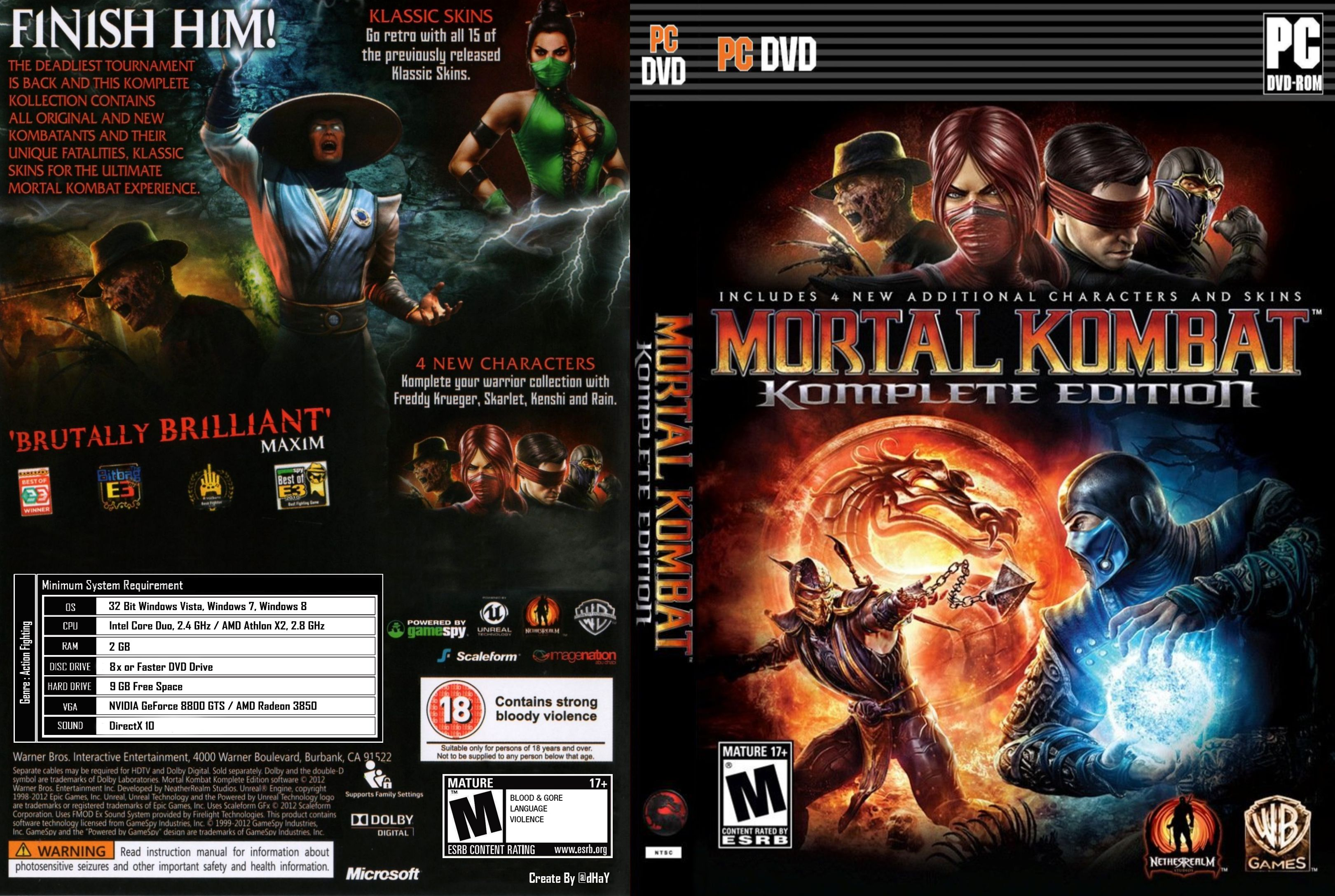Mortal kombat komplete edition pc patch exploited film