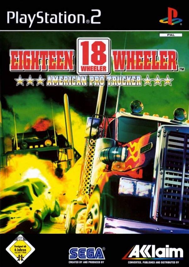 18 Wheeler American Pro Trucker PAL PS2