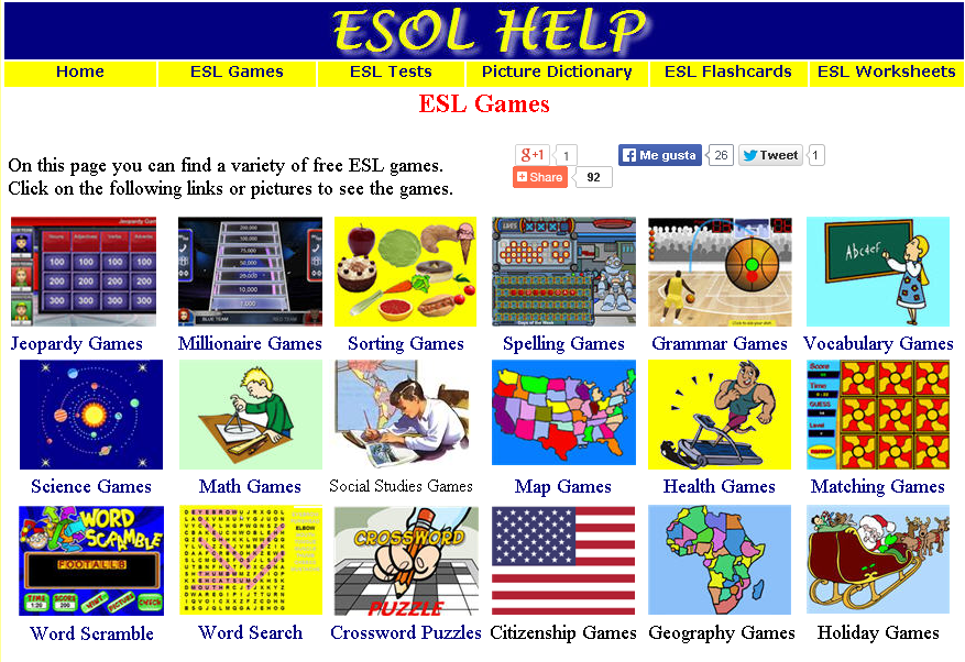 Free ESL Worksheets English Teaching Materials ESL
