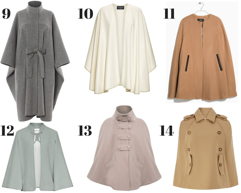 WISHLIST: Winter Capes | Ses Rêveries