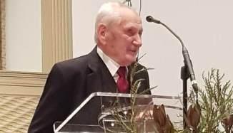 Sărbătorirea a 100 de ani de viață a pastorului Petru (Pitt) Popovici cu ocazia Convenției de la At