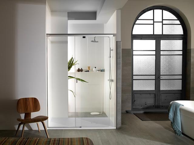 Baño De Ducha Procedimiento: yove proporcionan el ahorro de zona en el cuarto de baño primando