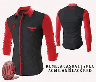 Kemeja AC Milan Murah