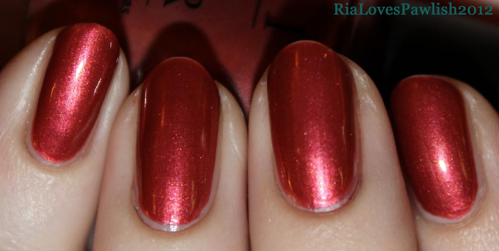 Ria Loves Pawlish: Finger Paints Flecked over OPI Ruble ...