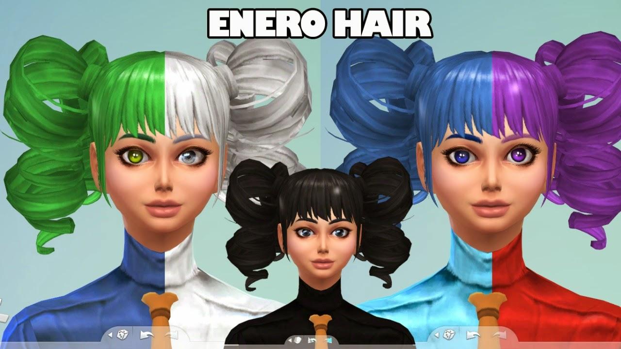 The sims 4 hair accessories - My Sims 4 Blog