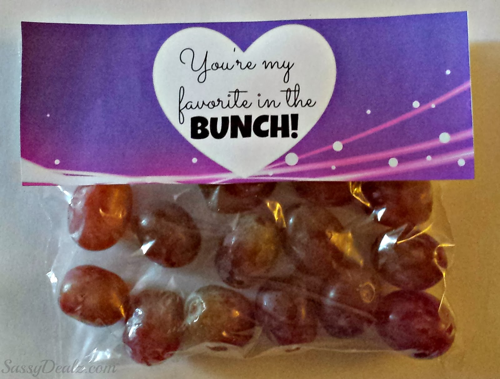 grapes valentine day gift non-candy