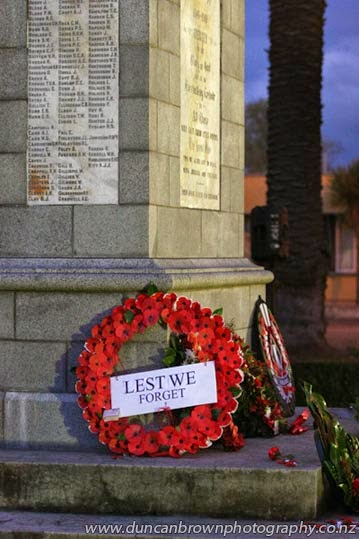 Lest we forget photograph