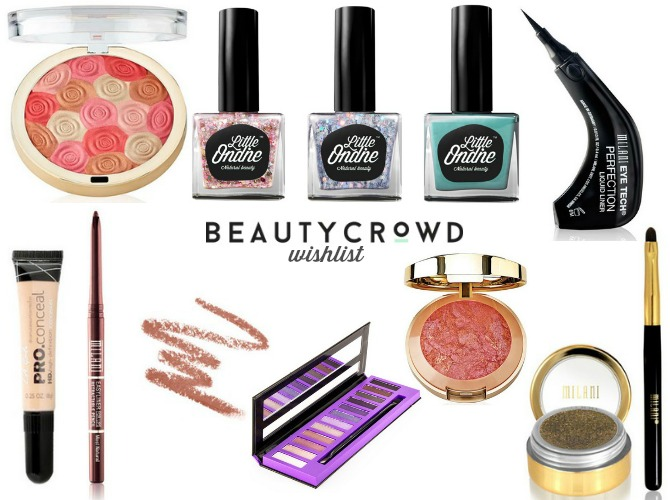Beauty Crowd wishlist