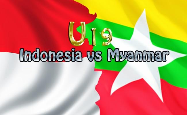 Hasil Pertandingan Indonesia U19 vs Myanmar U19 5 Mei 2014