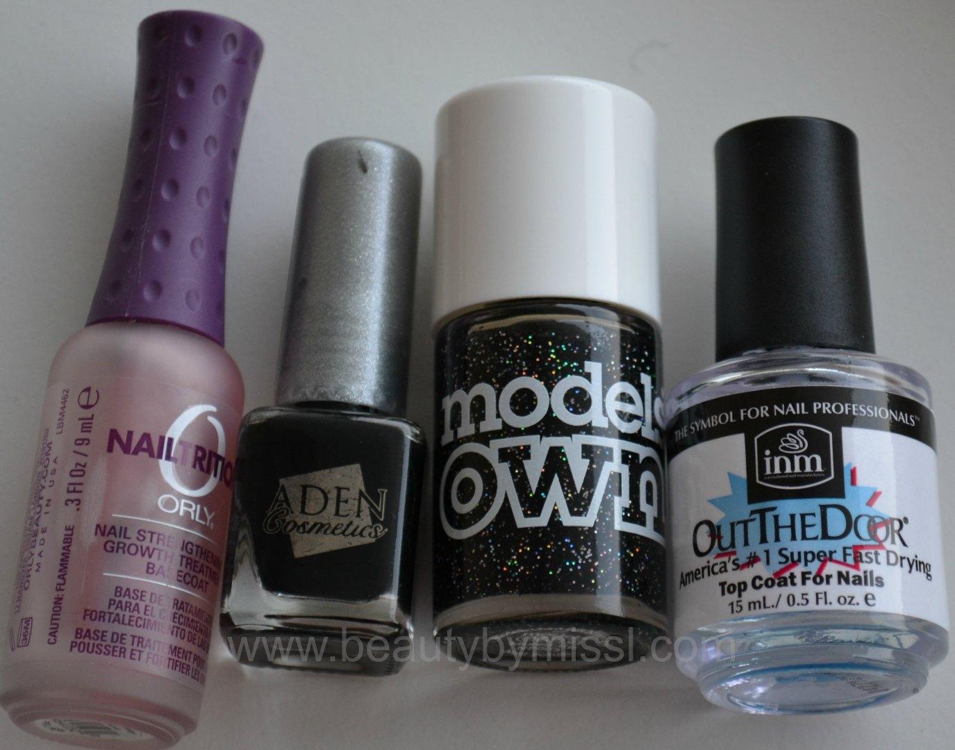orly, aden cosmetics, models own, INM OTD