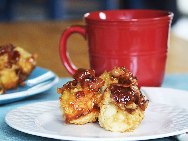 Maple, Bacon, Pecan Biscuit Bake and a King Arthur Flour Company Giveaway ~GIVEAWAY CLOSED~