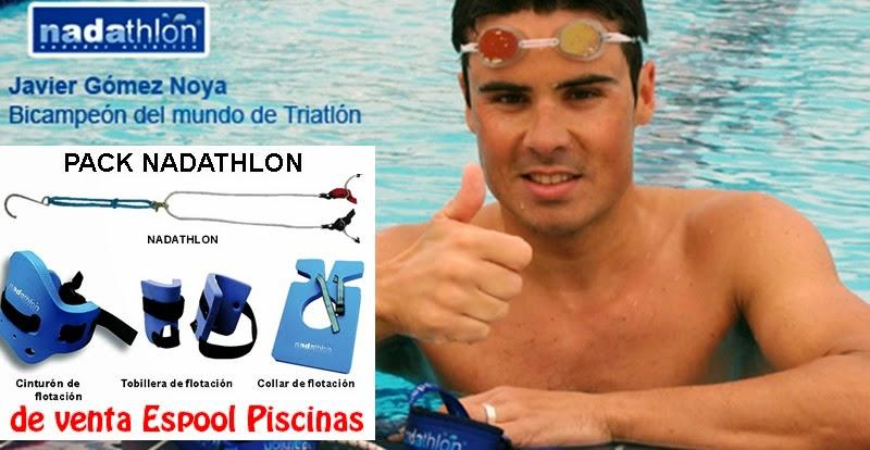 NADATHLON: equipo de piscina para nadar en cualquier piscina  - Guadalajara, Espool Piscinas. Pide más información en info@espoolpiscinas.com