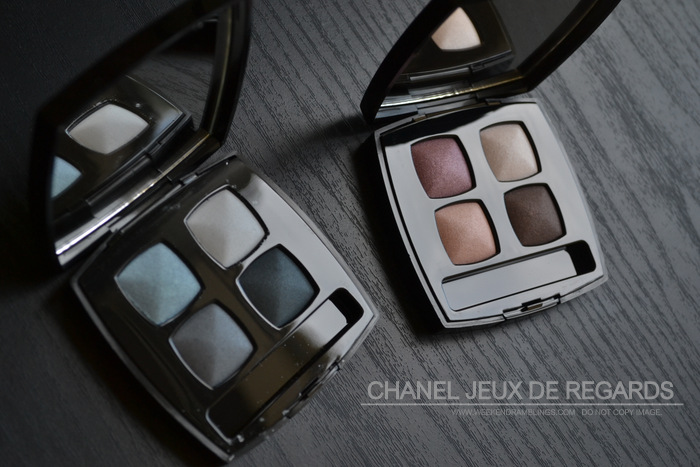 Chanel Jeux de Regards Makeup Collection - Fascination Seduction Eyeshadow Quad - Photos - Swatches