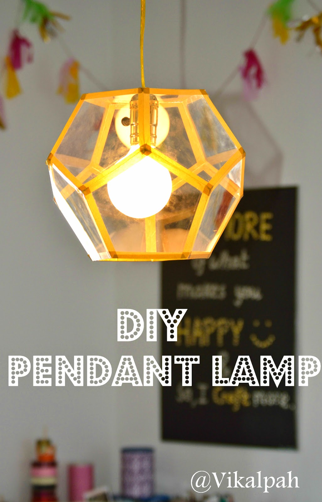 Vikalpah diy pendant lamp friday august 15 2014 aloadofball Image collections