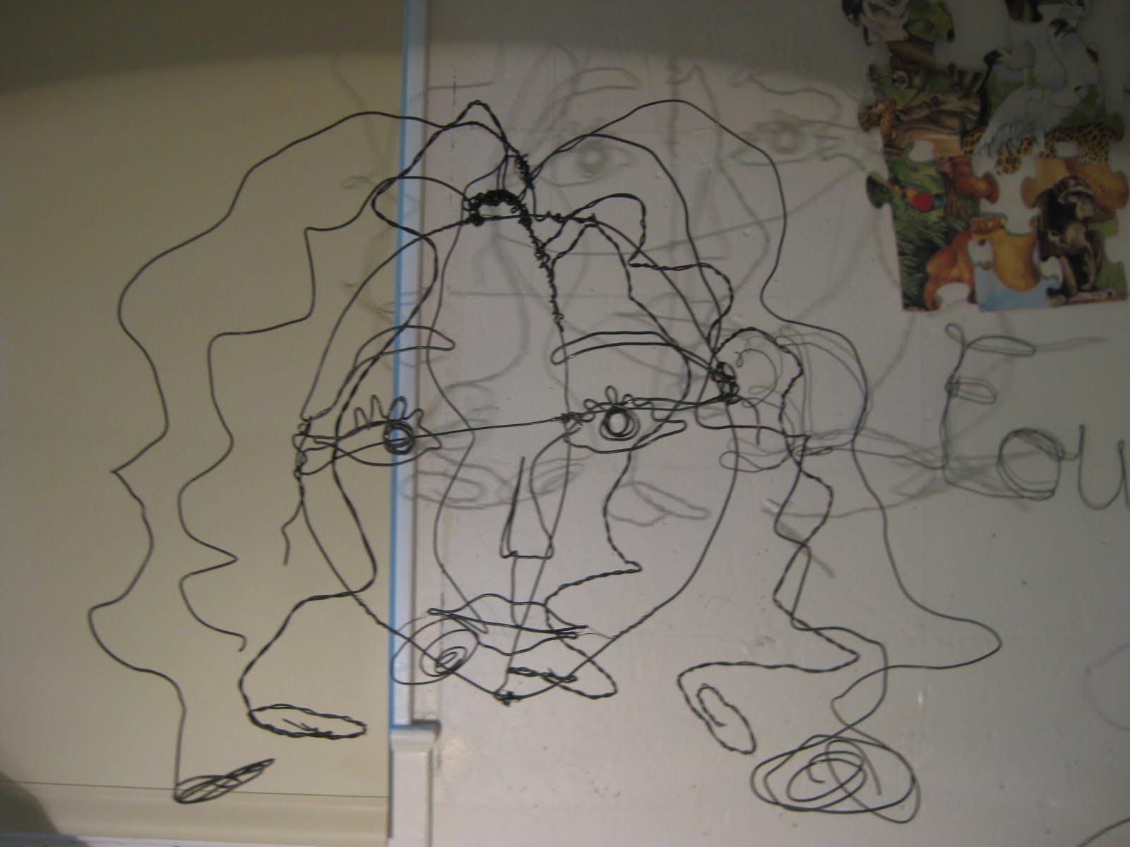 3d Wire Sculpture Self Portrait Center Water H2o Atomic Diagram Royalty Free Stock Photo Image 11549985 La Creative Design Recent Work Foundations Rh Lacreativedesign Blogspot Com Art Abstract