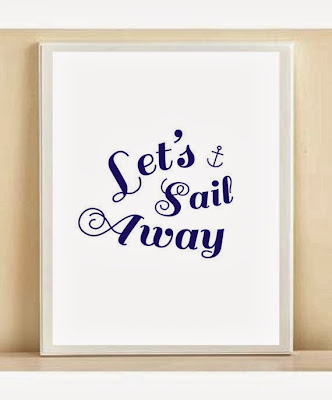 Let's sail away from Etsy seller Amanda Catherine Designs