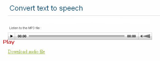 Hasil mengubah teks ke suara (mp3)